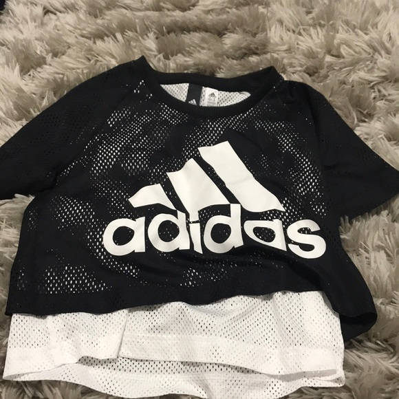 adidas Tops - Mesh Adidas T-shirt